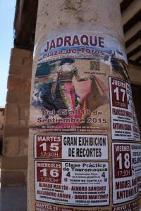 bullfight sign