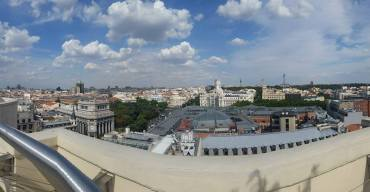 City of Madrid pano