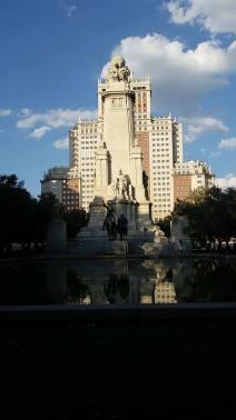 Plaza de Espana CervantesDon Q