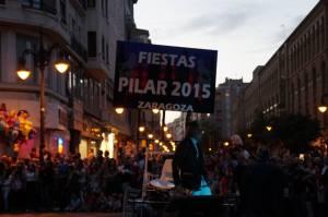 Fiesta de Pilar sign