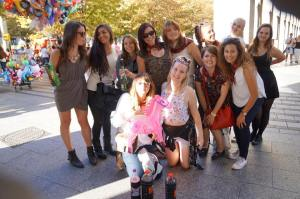 the girls in Zaragoza
