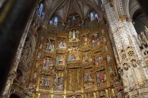 Toledo inside cathedral