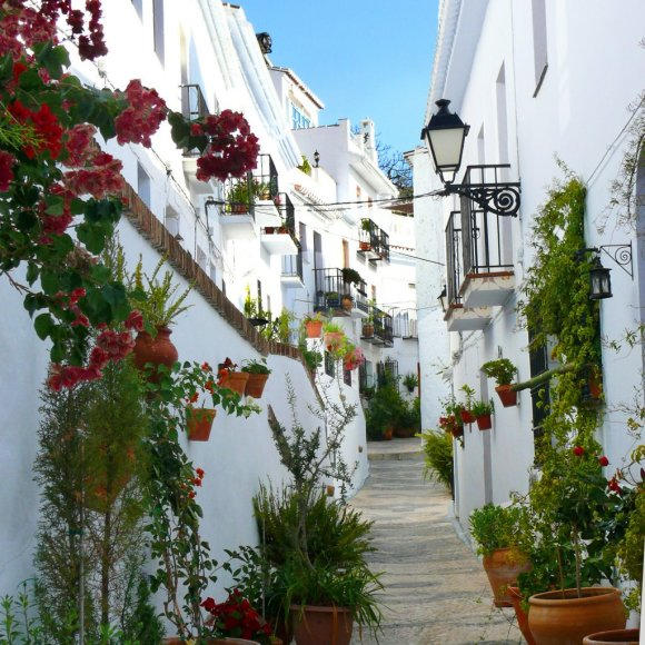 Romantic Spanish villages