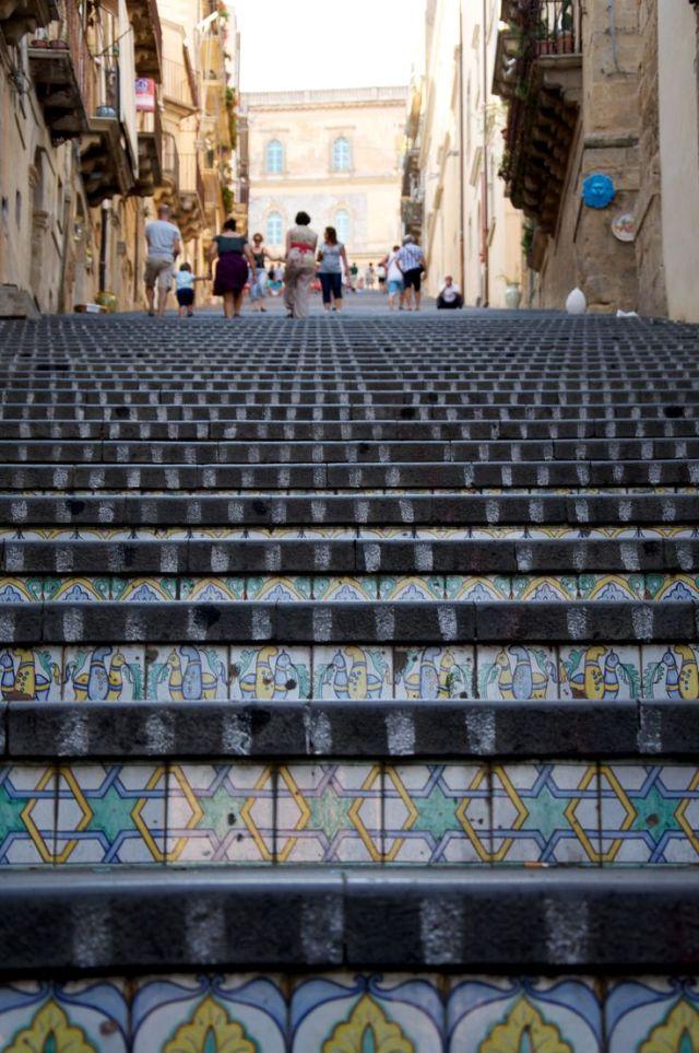 Ceramic steps