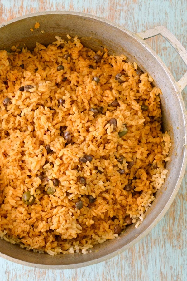 Puerto-Rican-Rice-with-Gandules